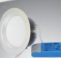 Светодиодный диммируемый светильник IM-125WH-dimm (220V, 18W)