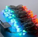 Гирлянда с 10 мм светодиодными шариками (5 метров)