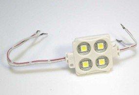 Герметичный светодиодный SMD 4 LED модуль 5050