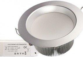 Светодиодный светильник IM-125SH (220V, 21W)