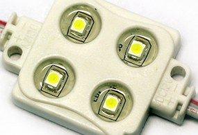 Герметичный светодиодный SMD 4 LED модуль